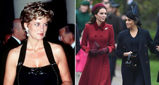 Diana would have a 'great mother-in-law' to Kate and Meghan, says her former astrologer [Photos: PA]
