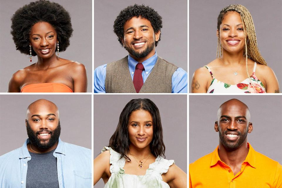"""BIG BROTHER announced today the 16 all-new Houseguests who will embark on the 23rd season of the series when they move into the """"BB Beach Club"""" during the live 90-minute premiere event Wednesday, July 7 (8:00-9:30 PM, live ET/delayed PT) on the CBS Television Network. The show will also be available to stream live and on demand on the CBS app and Paramount+, where fans will also be able to watch the 24/7 live feed and find exclusive content throughout the season. Pictured Azah Awasum, Derek Frazier, Hannah Chaddha, Kyland Young, Tiffany Mitchell and Xavier Prather"""