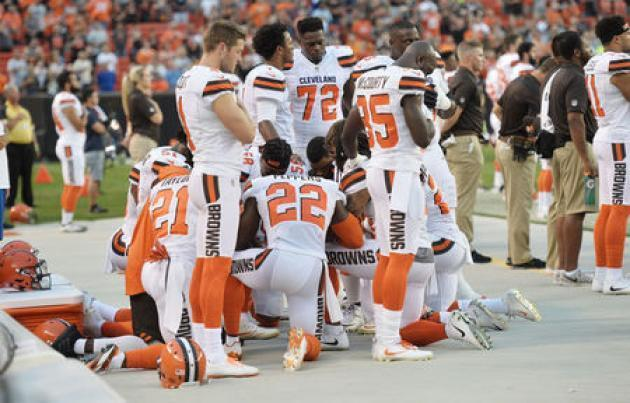 Cleveland police to skip Browns NFL ceremony in protest