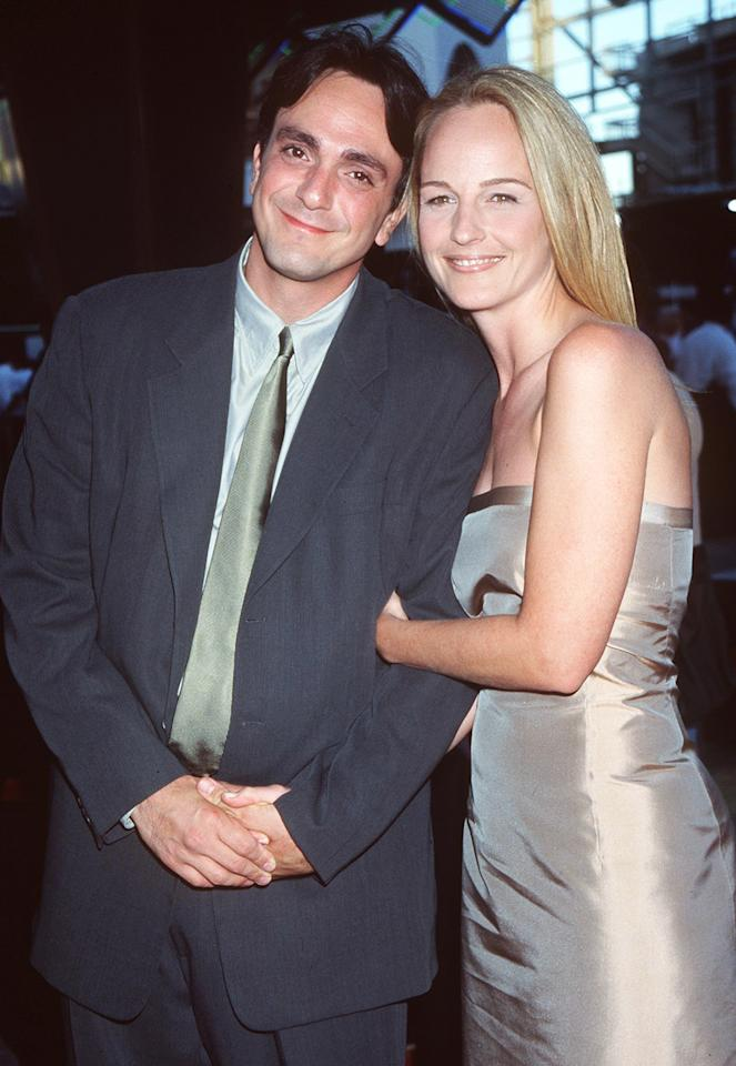 "Helen Hunt, who is Golden Globe nominated for her role as a sex surrogate in ""The Sessions,"" was briefly married to fellow actor Hank Azaria. The two divorced in 2000 after only 11 months. ""Getting over someone is a grieving process,"" Azaria told Elle magazine. ""You mourn the loss of the relationship and that's only expedited by 'out of sight, out of mind.' But when you walk outside and see them on a billboard or on TV or on the cover of a magazine, it reopens the wound."" Azaria has since remarried."