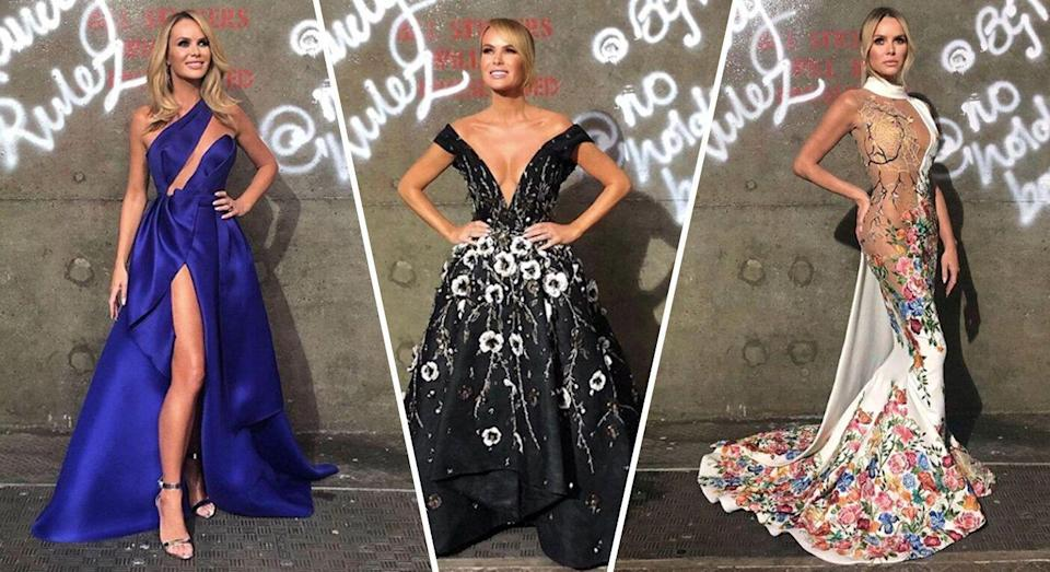 Amanda Holden is fast becoming one of Britain's most talked about fashion muses [Photo: Getty]
