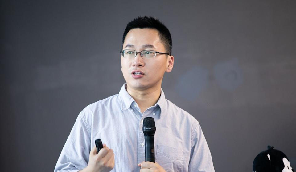 Jiang Tao, general manager of Hellobike's ride-hailing service, said the company aims to create a ride-hailing product that is affordable to ordinary people. Photo: Handout