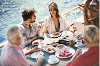 "<p>If you tend to fly solo on Thanksgiving or mark the occasion with a smaller group, try taking a Thanksgiving <a href=""https://www.goodhousekeeping.com/life/travel/g3694/best-family-vacation-destinations/"" rel=""nofollow noopener"" target=""_blank"" data-ylk=""slk:family vacation"" class=""link rapid-noclick-resp"">family vacation</a> for fewer crowds and a fun new tradition. You can book a big family dinner at many resorts and destinations, and make memories that last a lifetime. </p>"