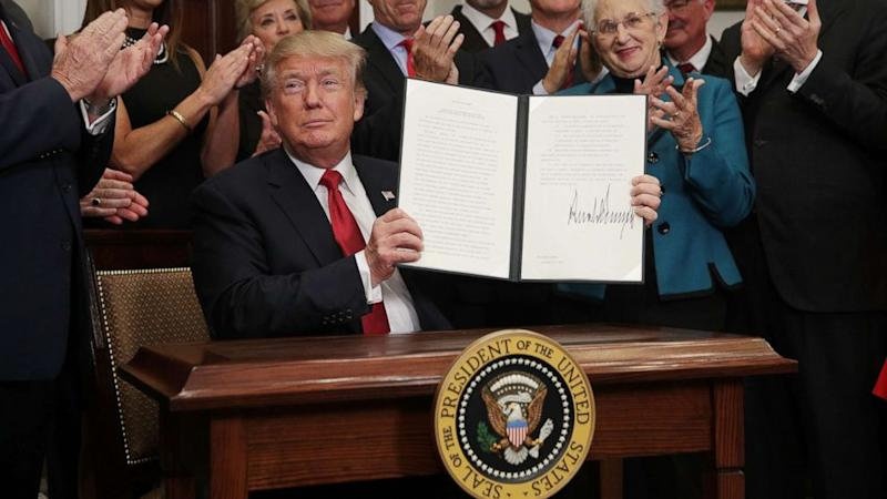 President Trump aims to strike down parts of Obamacare with new executive order