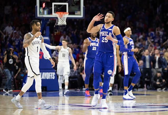 Ben Simmons has heard enough from the critics. (AP Foto/Chris Szagola)