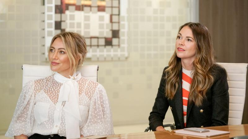Hilary Duff and Sutton Foster star in Paramount+'s Younger