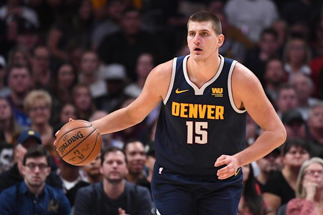 The Grizzlies stifled Nikola Jokic into one of the more bizarre stat lines of the early season. (Getty)