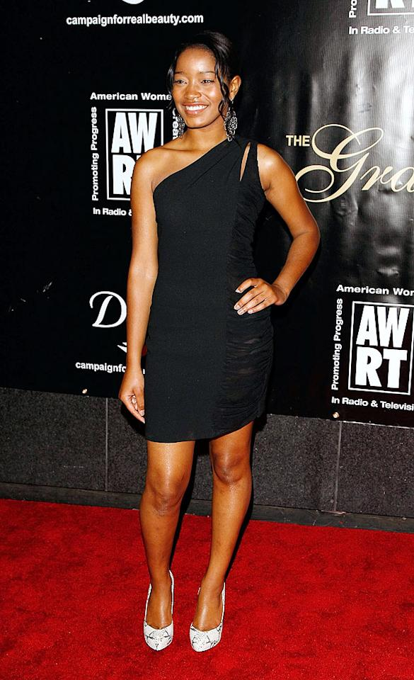 """""""True Jackson, VP"""" star Keke Palmer kept it classy in a LBD and chandelier earrings. Jemal Countess/<a href=""""http://www.gettyimages.com/"""" target=""""new"""">GettyImages.com</a> - June 3, 2009"""