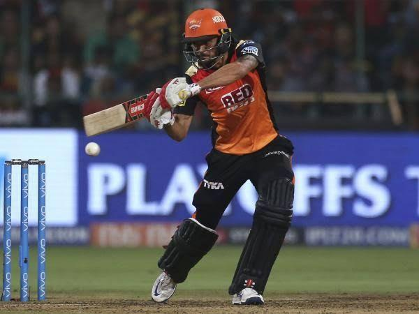 Manish Pandey found his form back when promoted to number three (Pic courtesy - BCCI/iplt20.com)