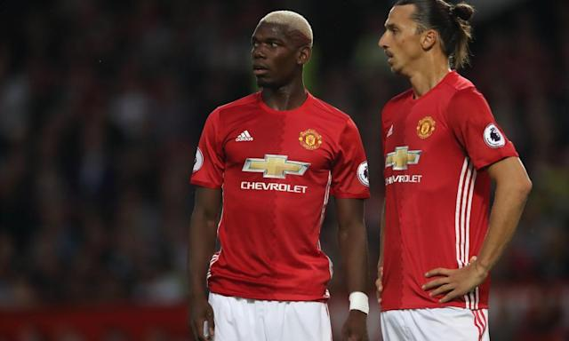 "<span class=""element-image__caption"">Manchester United's Paul Pogba and Zlatan Ibrahimovic were two of the biggest Premier League signings last summer.</span> <span class=""element-image__credit"">Photograph: Matthew Ashton - AMA/Getty Images</span>"
