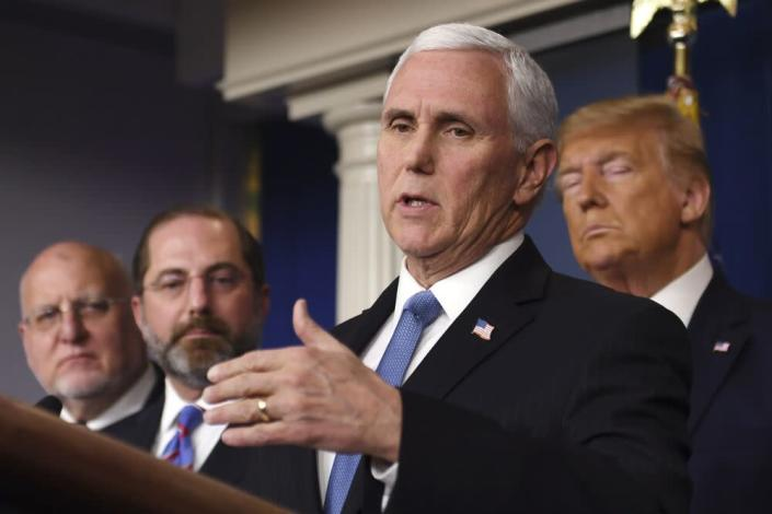 Vice President Mike Pence   ERIC BARADAT/AFP via Getty