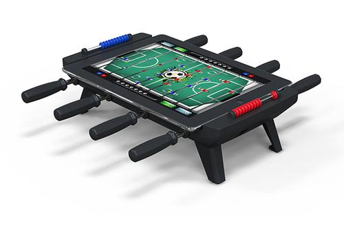 You've had the iCade and pinball add-ons, now turn your iPad into table football with Classic Match Foosball