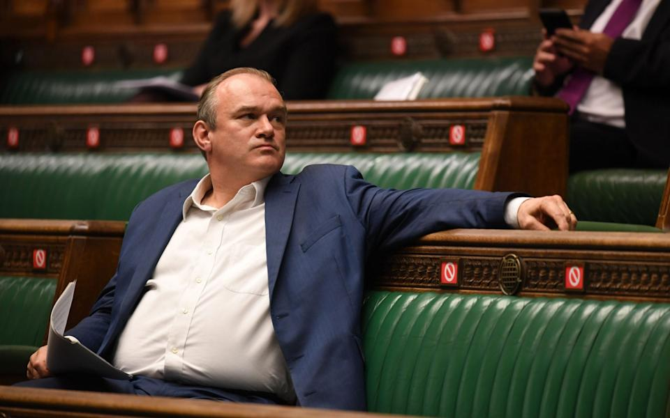 Ed Davey, the Liberal Democrat leader - JESSICA TAYLOR/UK PARLIAMENT
