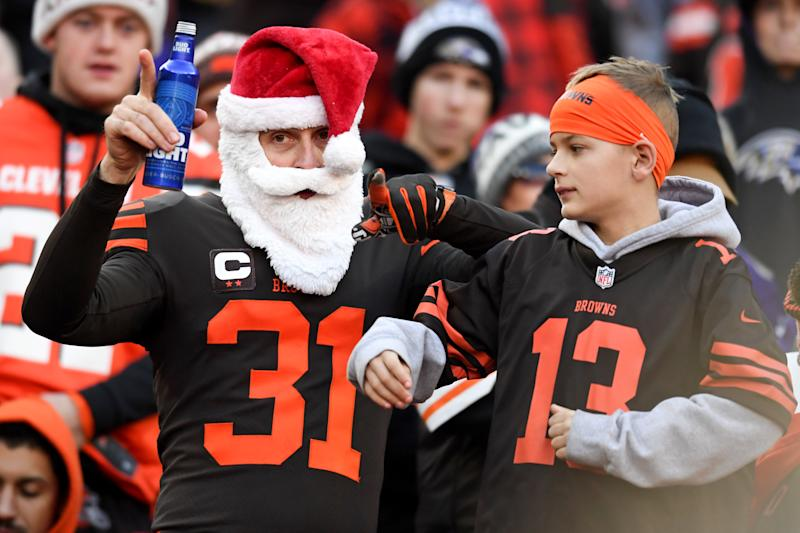 The NFL has scheduled a game on Christmas, but could we be in for a total sports bonanza on Christmas Day 2020? (Photo by: 2019 Nick Cammett/Diamond Images via Getty Images)