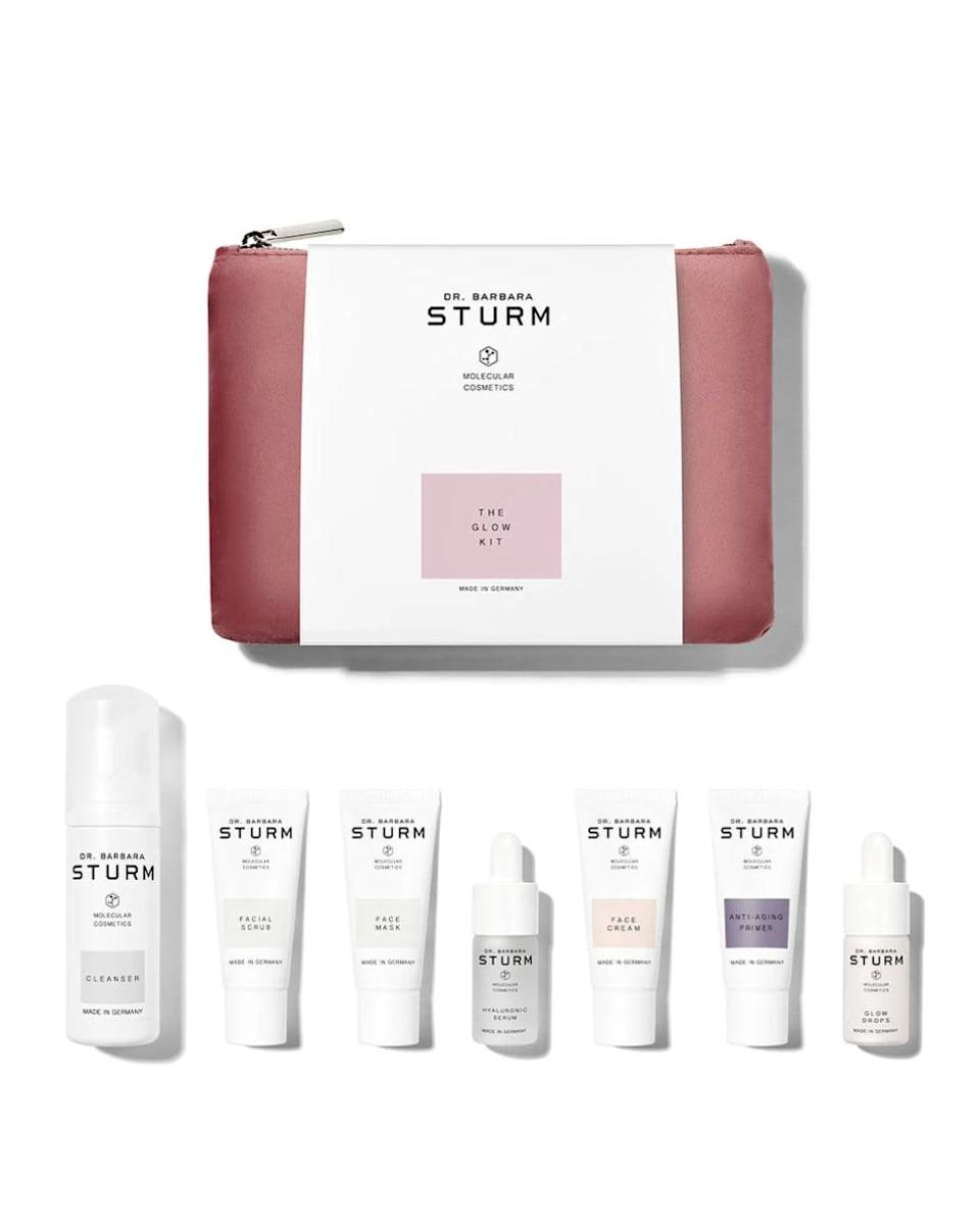 """<p><span>Dr. Sturm The Glow Kit</span> ($210)</p> <p>""""I use Barbara Sturm in my daily skin care routine and each product feels like a mini facial. Her Glow Kit is a sampler of all of the best top sellers and the perfect holiday gift to treat yourself."""" - DAC</p>"""