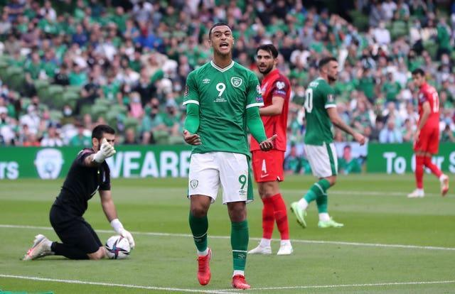 Adam Idah has not given up on Ireland's World Cup hopes