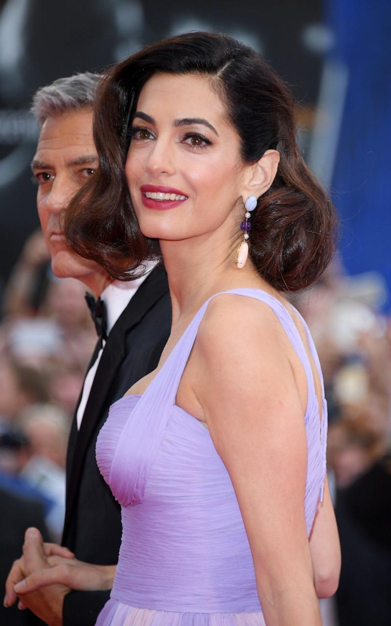 Amal Clooney at the Venice Film Festival, 2017 - WireImage