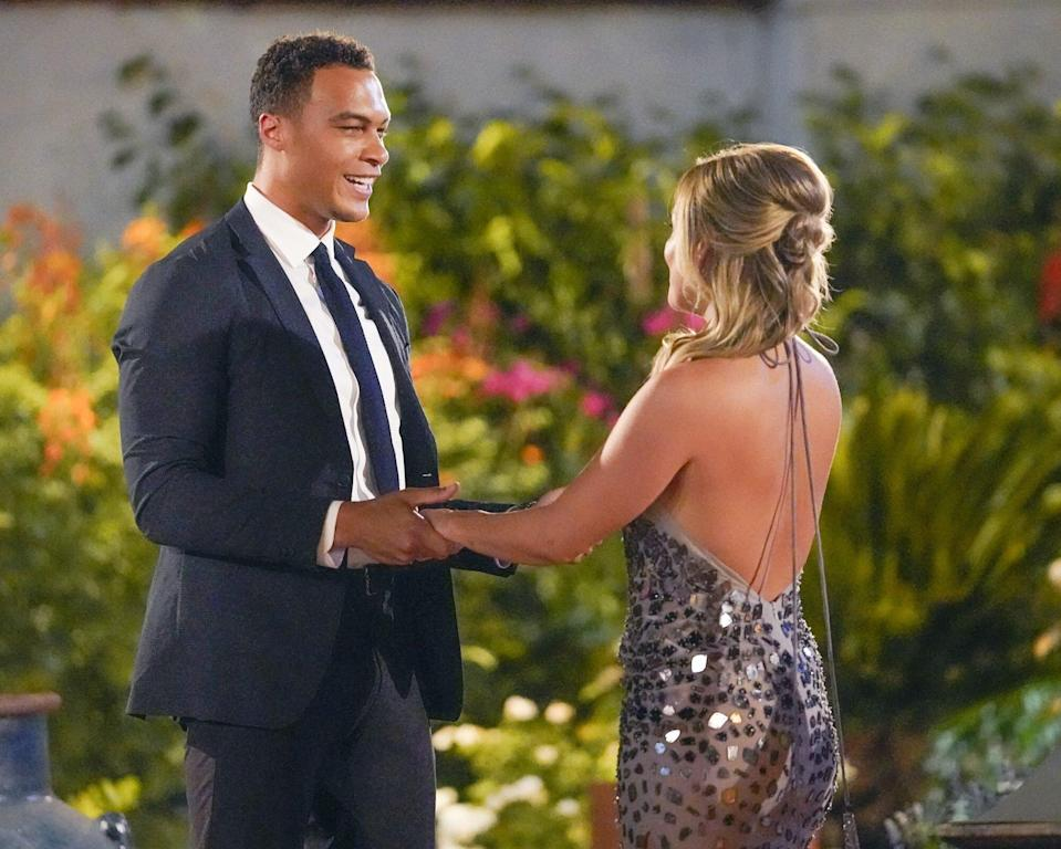 The Bachelorette : Clare Crawley Says Meeting Dale Moss Felt Like 'Electricity' in Sneak Peek