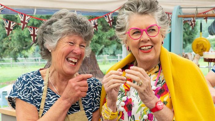 Maggie and Prue Leith