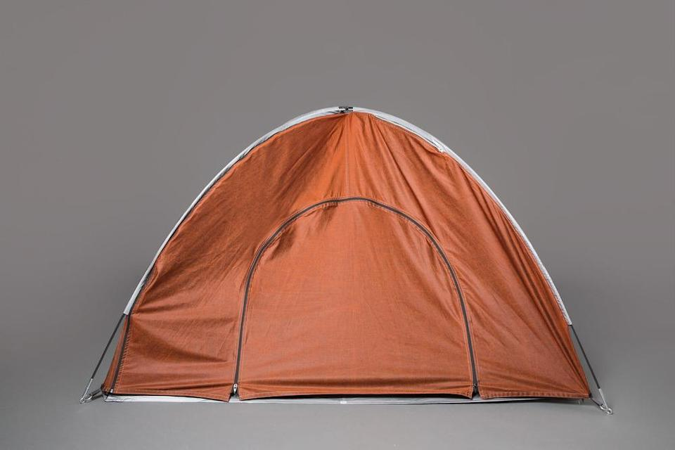 <p>Similar to the large tent, this smaller version can fit two people. [<i>Photo: Jessica Richmond]</i></p>