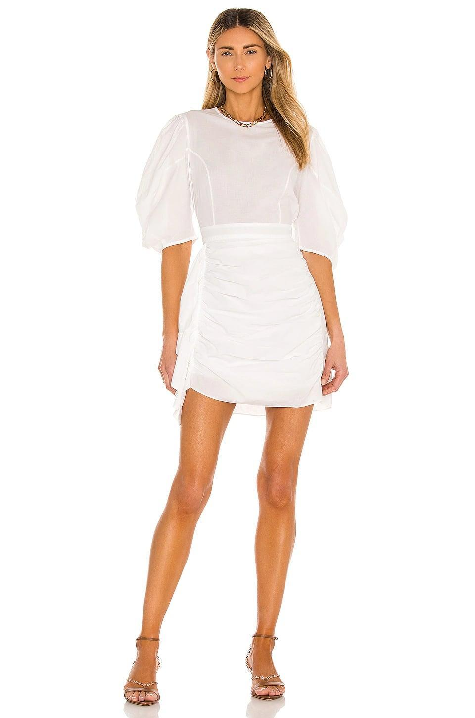 <p>Get yourself this gorgeous <span>Rhode Pia Dress</span> ($395) and thank us later.</p>