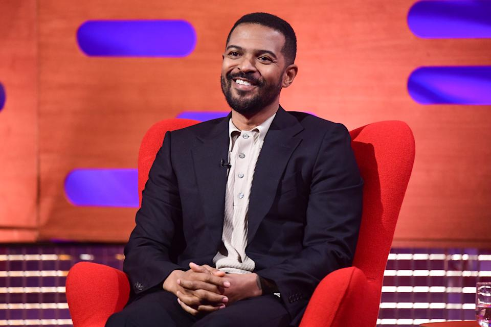 EDITORIAL USE ONLY Noel Clarke during filming for the Graham Norton Show at BBC Studioworks 6 Television Centre, Wood Lane, London, to be aired on BBC One on Friday evening.