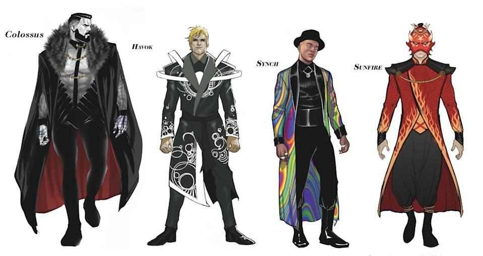 Russian mutant Colossus leads the pack of the best dressed male X-Men at the Hellfire Gala.