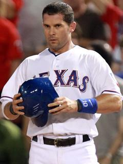 Michael Young picked up the 2,000th hit of his career on Aug. 7 against Cleveland