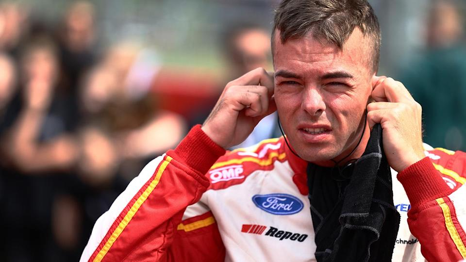 Scott McLaughlin, pictured here at the Bathurst 1000.
