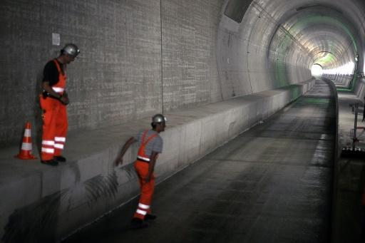 World's longest rail tunnel a 'godsend' for Europe: EU official