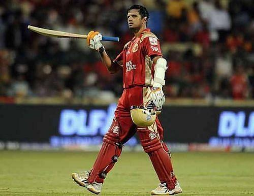 Rahul Dravid was RCB's captain in the inaugural season of the IPL in 2008.