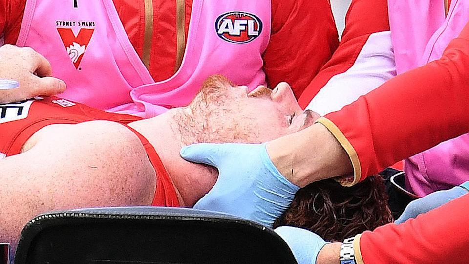 Rohan cleared after sickening AFL injury