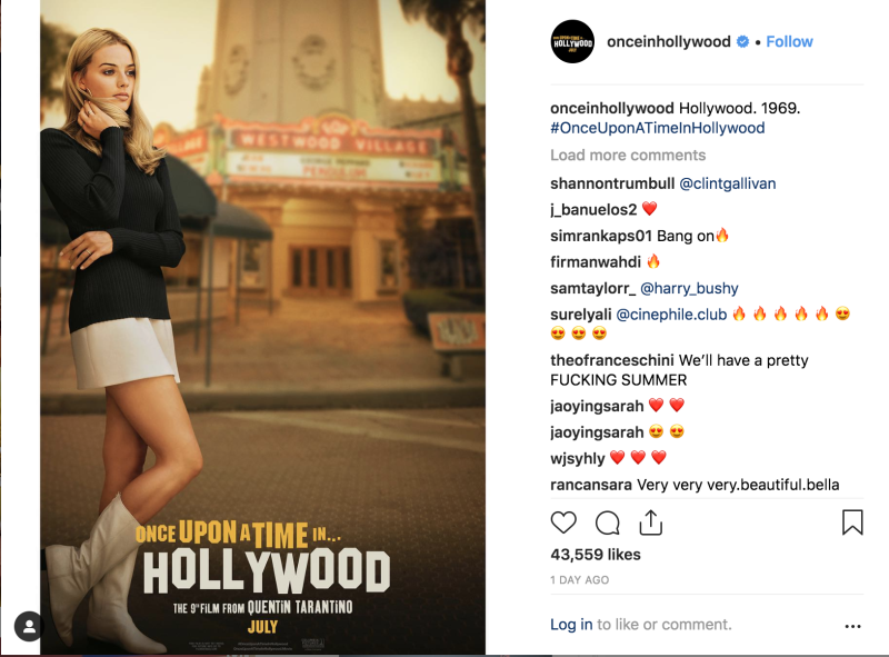 f418230ecab 'Once Upon a Time in Hollywood' Buzz Is On — Watch the Movie Trailer Here