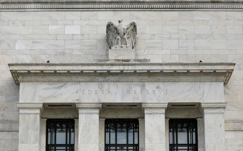 FILE PHOTO: FILE PHOTO: FILE PHOTO: FILE PHOTO: The Federal Reserve building is pictured in Washington, DC