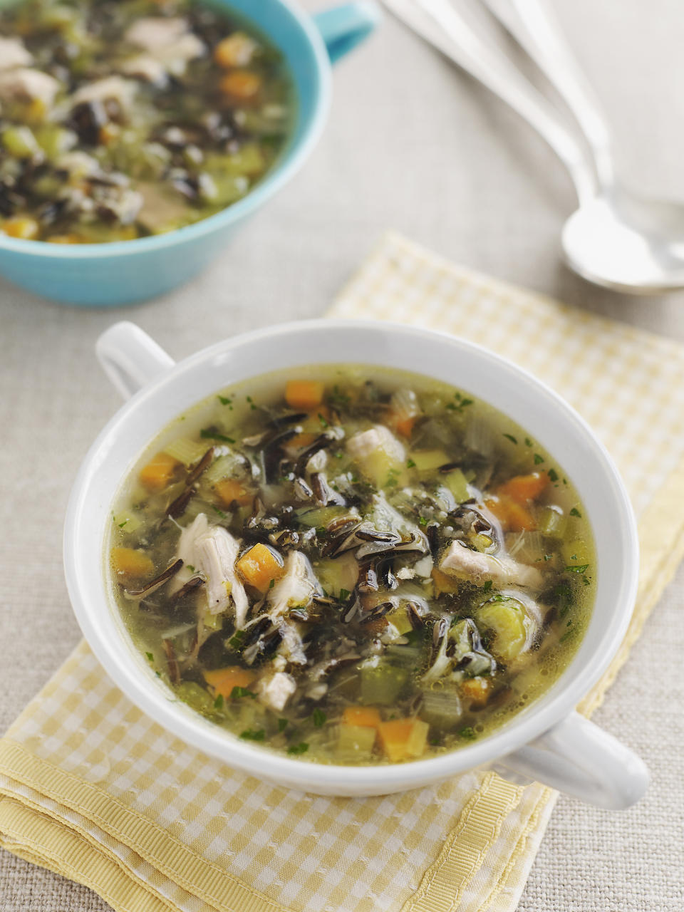Make a scrap soup with leftovers. (Getty Images)