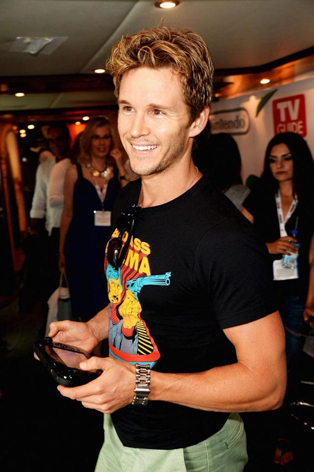 Ryan Kwanten attends the Nintendo Oasis on the TV Guide Magazine Yacht at Comic-Con day 2 on July 20, 2013 in San Diego, California.