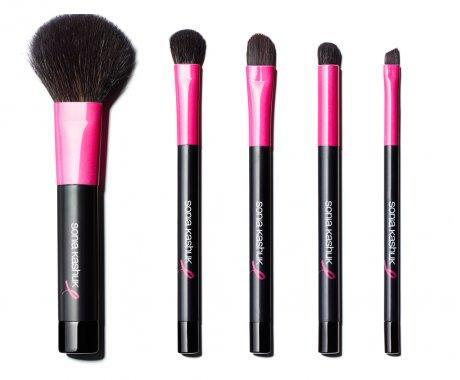 The breast cancer survivor and beauty entrepreneur is known for creating quality makeup brushes on a budget. This year's pink-trimmed black brushes come in a matching zippered case. 15% of proceeds go to the Breast Cancer Research Foundation.