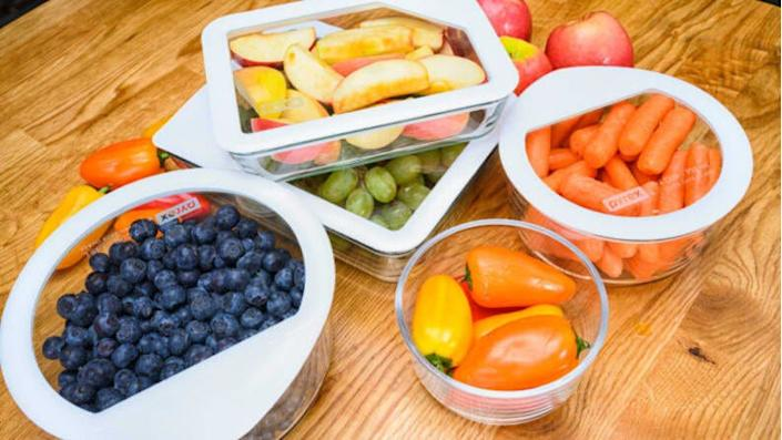 Meal prep containers to keep your food fresh