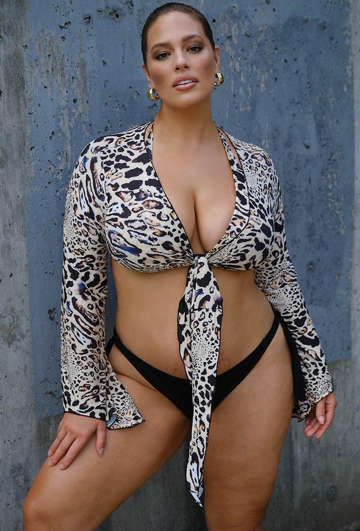 Ashley Graham x Swimsuits For All Fearless Crop Top (Photo: Swimsuits For All)
