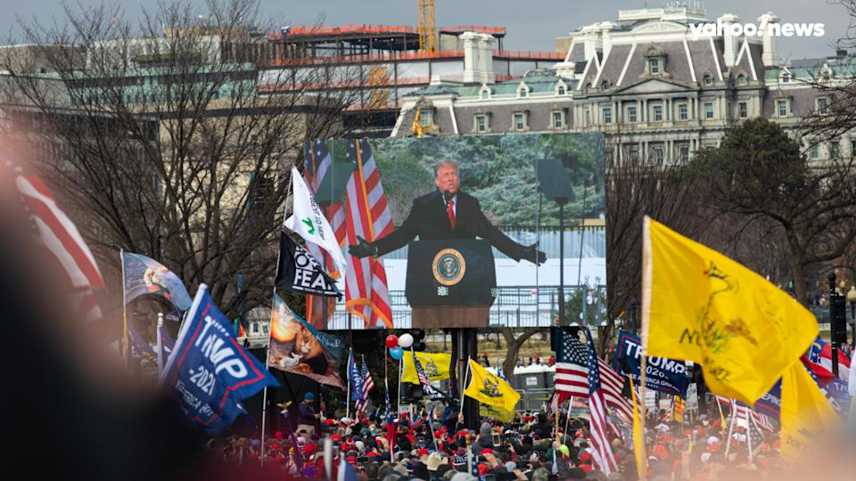 On the morning of Jan. 6, many Black Americans celebrated the news that the Rev. Raphael Warnock had defeated Sen. Kelly Loeffler in a runoff election to become the first African American U.S. senator from the state of Georgia. But just hours later, President Trump addressed a mass rally of his supporters in Washington, D.C., exhorting them to head to the U.S. Capitol to make their displeasure known to lawmakers who were set to certify the results of the 2020 presidential election. Black Americans share their reactions.