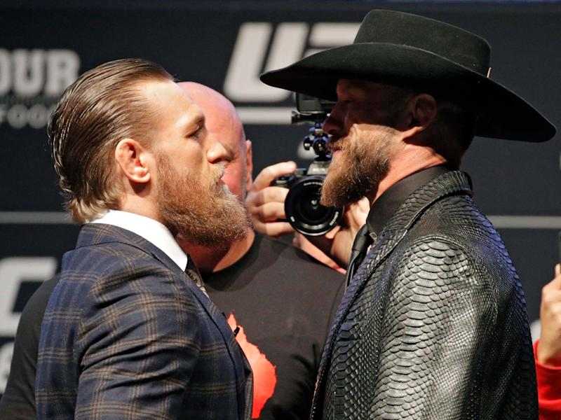 Conor McGregor takes on Donald 'Cowboy' Cerrone at UFC 246 this weekend: AP