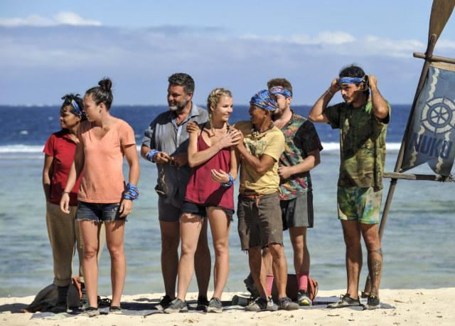 New Nuku tribe after swap on Survivor: Game Changers