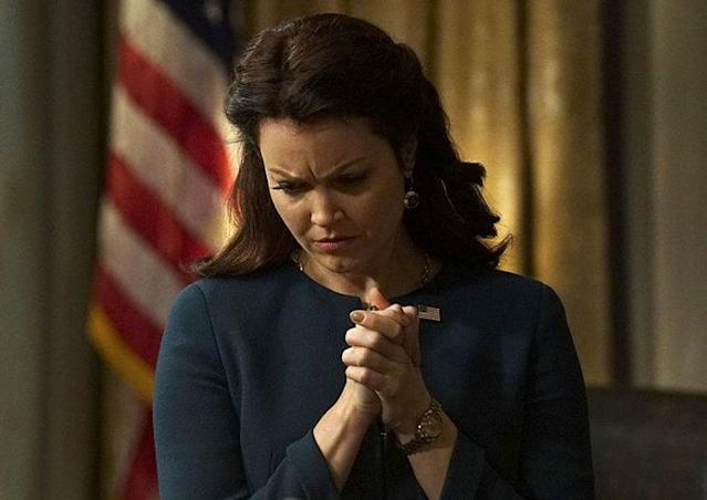 Bellamy Young in ABC's Scandal. (Photo: Richard Cartwright/ABC)