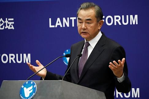 Chinese Foreign Minister Wang Yi says Beijing is opposed to unilateralism. Photo: Reuters