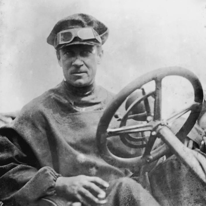 1907 Peking to Paris race -Prince Scipione Borghese in a 35/45HP 7.5-litre Itala