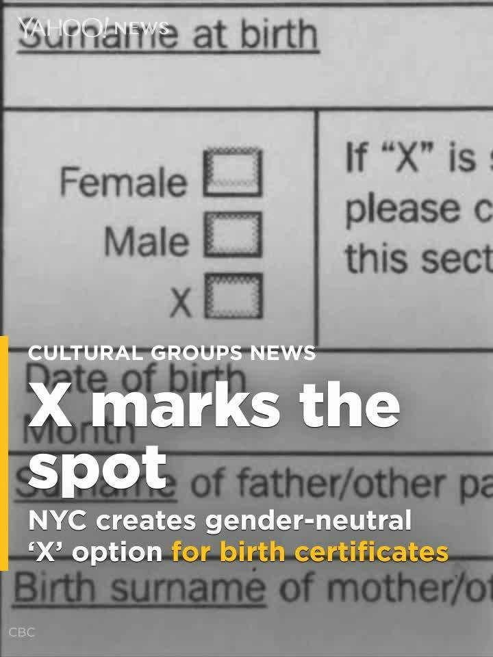 Nyc Creates Gender Neutral X Option For Birth Certificates Video