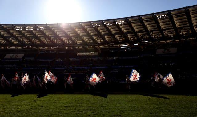 The first leg of Benfica's Europa League round of 32 tie with Arsenal will be played at the Stadio Olimpico in Rome.