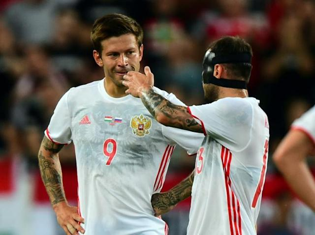 A series of injuries to other players have left Fyodor Smolov as Russia's first-choice striker for the World Cup
