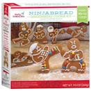 <p>These are not your typical gingerbread men! Your kids will love decorating these little tough cookies. Each kits includes: gingerbread cookie mix, royal icing mix, candy beads, piping bag and four ninja cookie cutters. You can bake up to 12 cookies with each box. </p>
