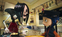 """<p>Horror: It's not just for grownups. Working from Neil Gaiman's creepy children's novella, <em>Nightmare Before Christmas </em>director Henry Selick and the stop-motion geniuses at Laika Studios crafted a gorgeous, genuinely unsettling fable about a young girl who finds a secret door that transports her to her """"Other Mother"""" and """"Other Father."""" The movie expertly mines childhood fears in a way that will entertain young viewers, while also giving them (and their parents) the tingles. (Available on Netflix.) — <em>Ethan Alter </em>(Photo: Focus Features/courtesy Everett Collection) </p>"""